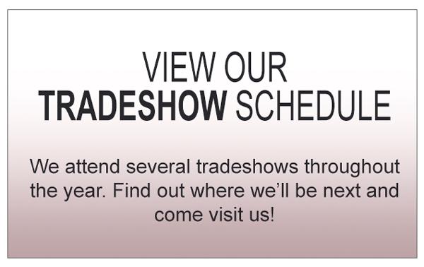 Tradeshow Schedule